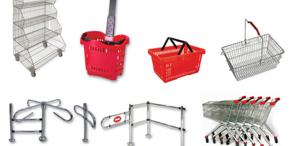 Supermarket Equipment - Supermarket Shelves and Accessories