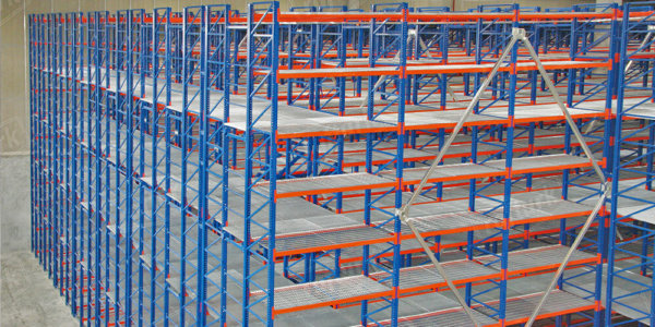 Mezzanine Shelving Systems - Warehouse Racks