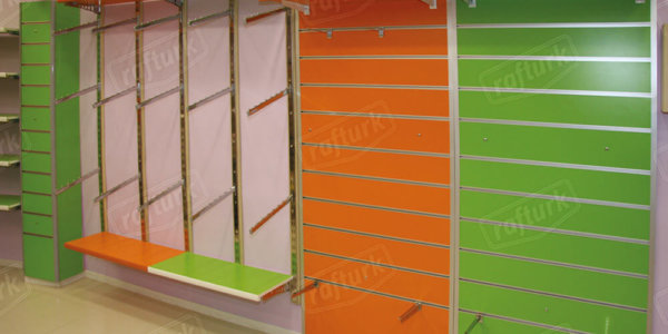 Channel Board Shelves - Store Shelving Systems