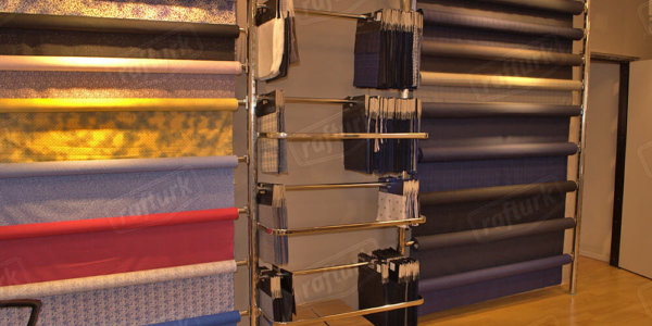 Round Racking Systems - Store Shelves and Equipment