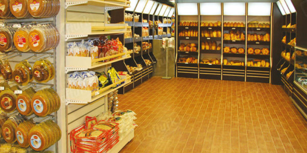 Bakery Units - Supermarket Shelves and Equipment